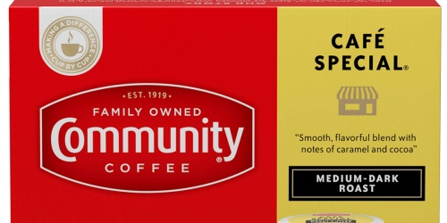 Community Coffee K-Cups 36-Count Only $8.98 Shipped on Amazon (Regularly $12)