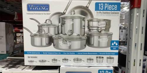 Viking 13-Piece Cookware Sets Just $199.98 on SamsClub.com (Regularly $250+) | Includes Lifetime Warranty