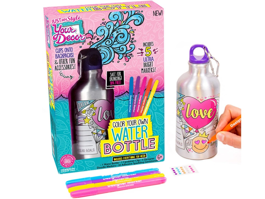 create your own water bottle kit