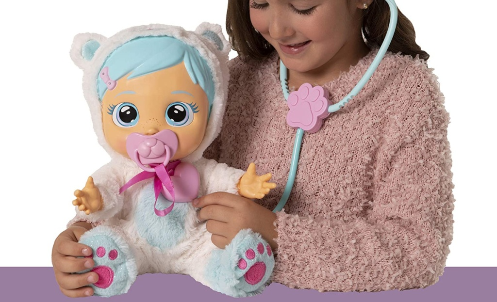 Cry Babies Pearly Gets Sick and Feels Better Kid Toy Gift
