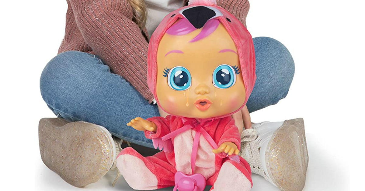 Cry Babies Fancy The Flamingo Doll Pink
