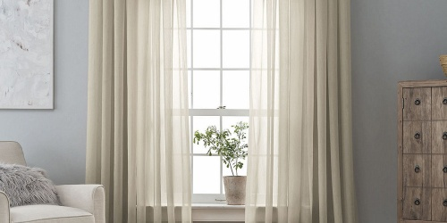 Home Expressions Curtain Panels From $9.98 on JCPenney.com (Regularly $30)
