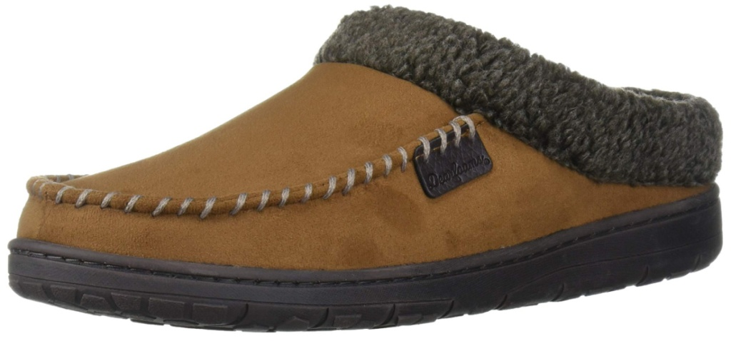 dearfoams mens clogs slippers
