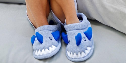 Dearfoams Toddler Shark Slippers Only $9.99 on Amazon (Regularly $24)