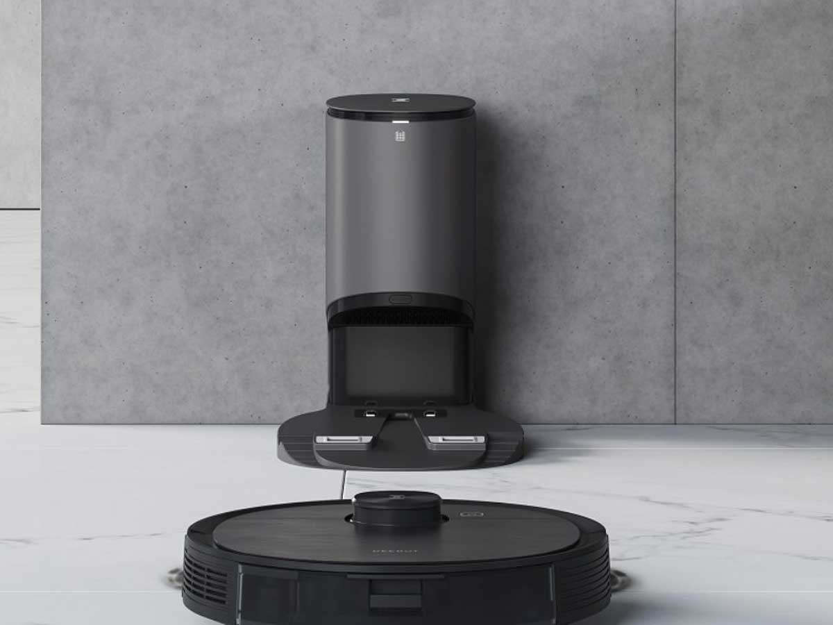 robotic vacuum mop and auto removal station