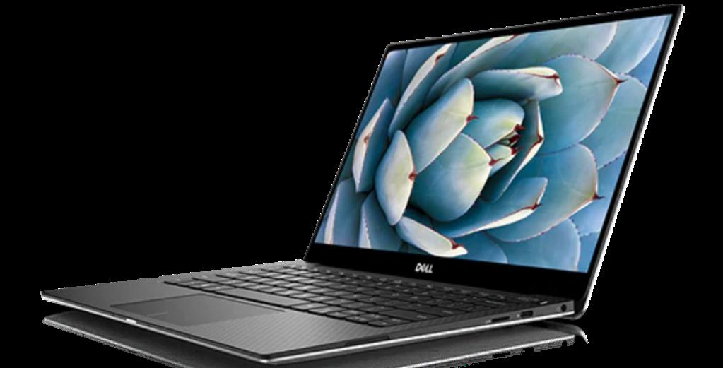 open Dell laptop