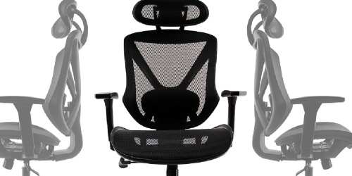 $120 Off Mesh Swivel FlexFit Office Chair + Free Shipping