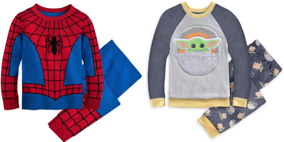 spider man and the mandalorian pajamas