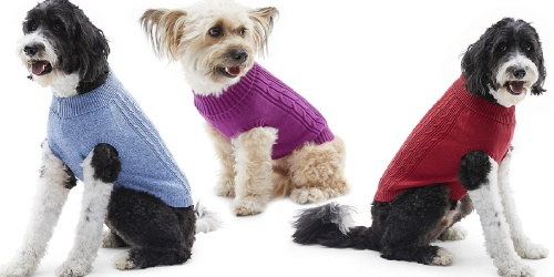St. John's Bark Dog Sweaters Only $4.99 on JCPenney (Regularly $22)