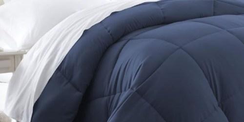 All-Season Down Alternative Comforters from $24.73 on HomeDepot.com (Regularly $38+)