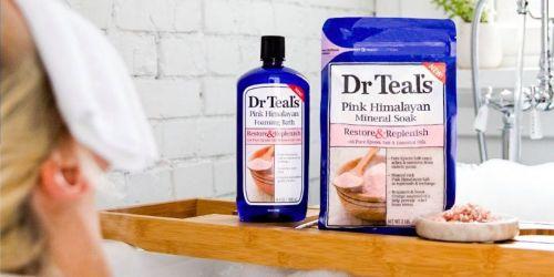 Dr Teal's Epsom Salt & Bubble Bath Gift Sets Only $3.75 Each on Walgreens.com (Regularly $5)