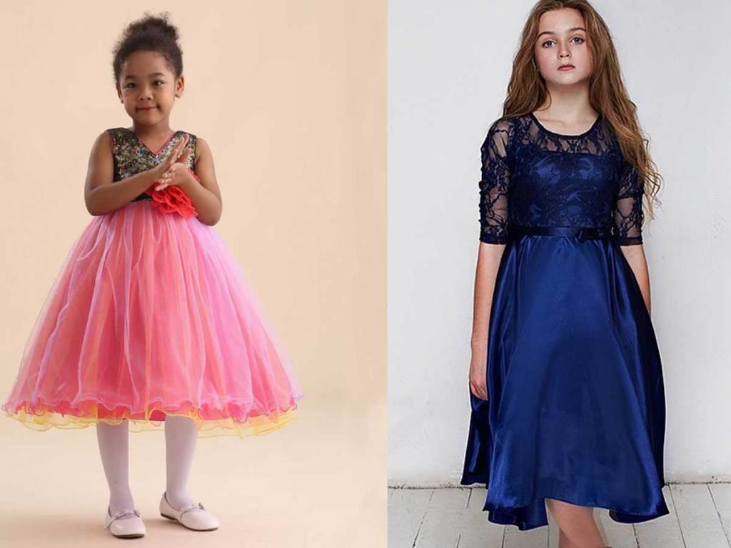 models wearing dresses
