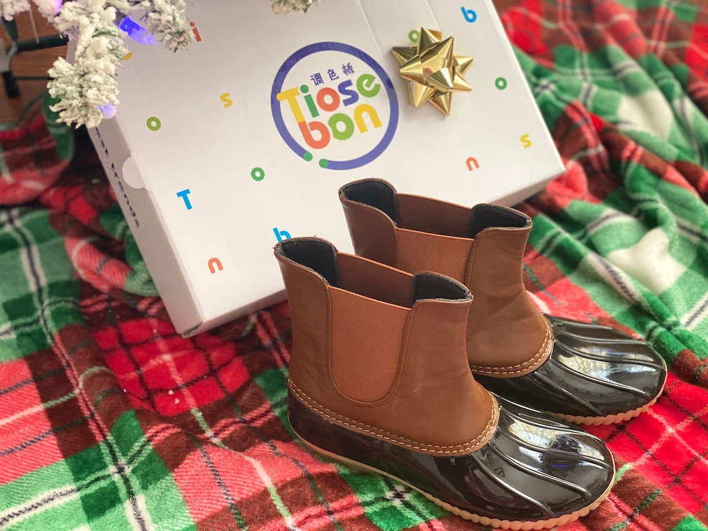Tiosebon Duck Boots with gift box