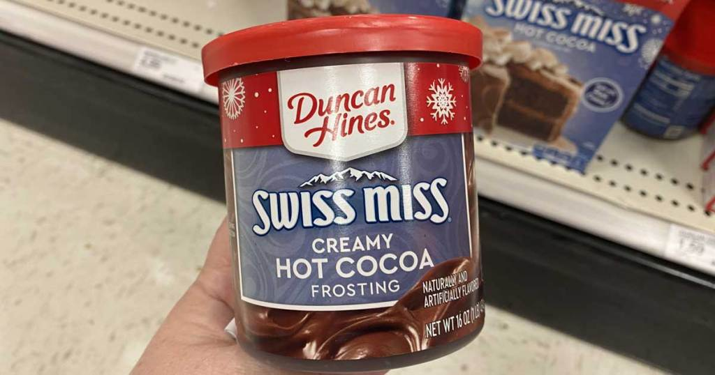 can of frosting mix