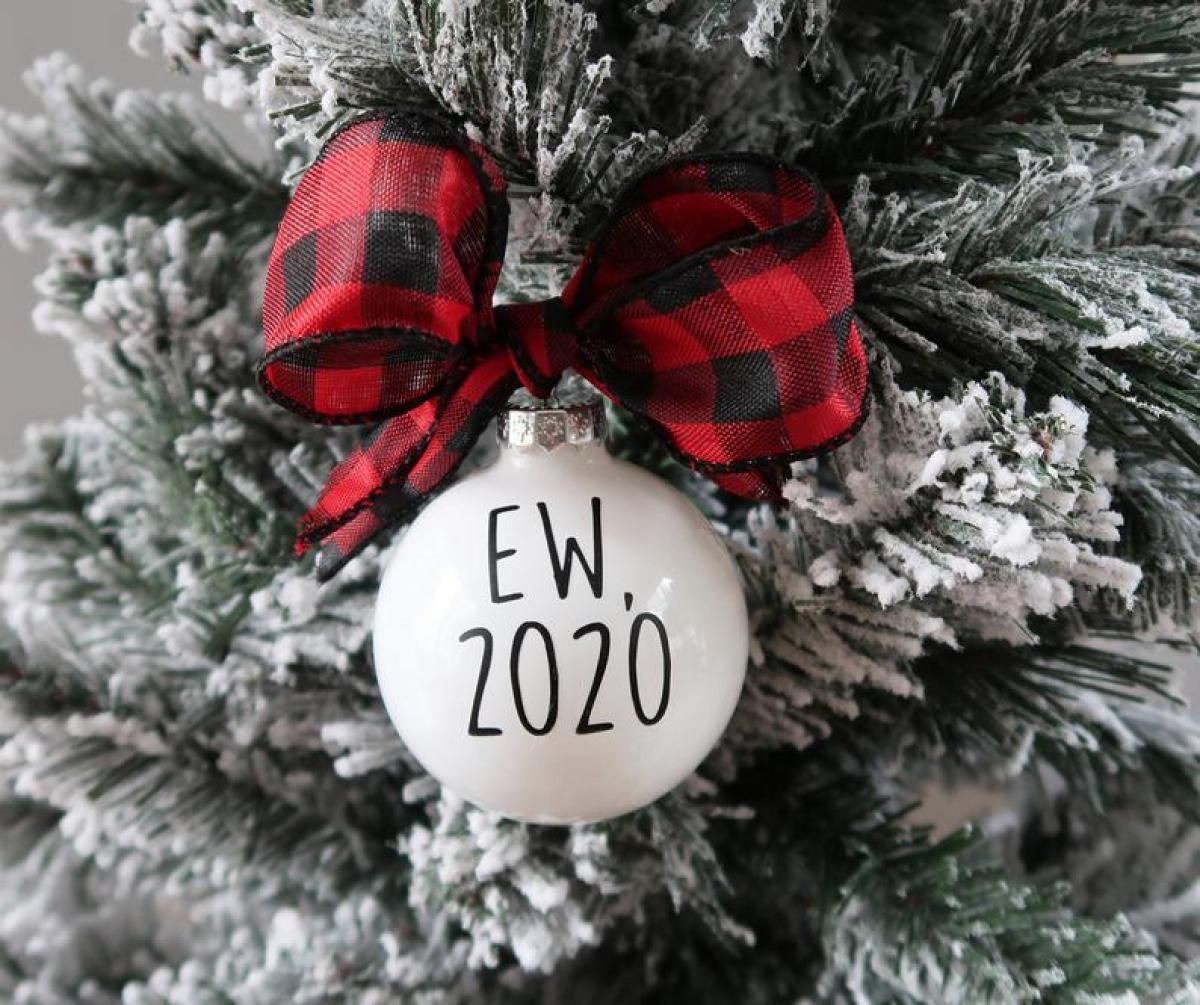 EW, 2020 Christmas Ornament