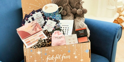 FabFitFun Winter Box from $44.99 Shipped ($200 Worth of Beauty Items) + FREE Bonus Box