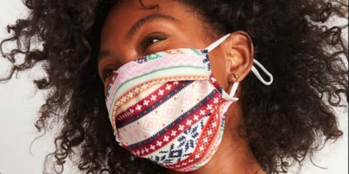 Old Navy Reusable 5-Pack Cloth Face Masks Only $6.25 – Just $1.25 Each | Kids & Adult Sizes