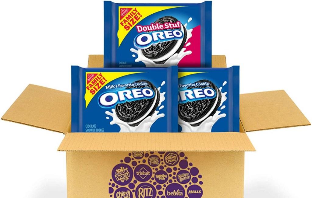 family size oreos in box