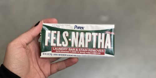 Fels-Naptha Laundry & Stain Remover Bar Only 84¢ Shipped on Amazon | Awesome Reviews