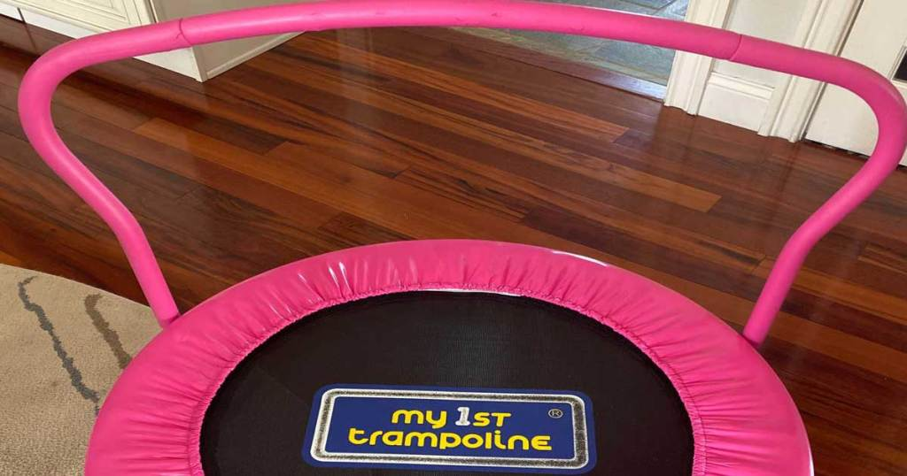 my 1st trampline