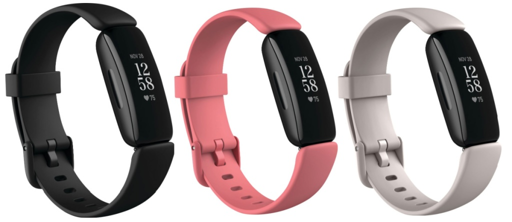fitbit inspire three colors
