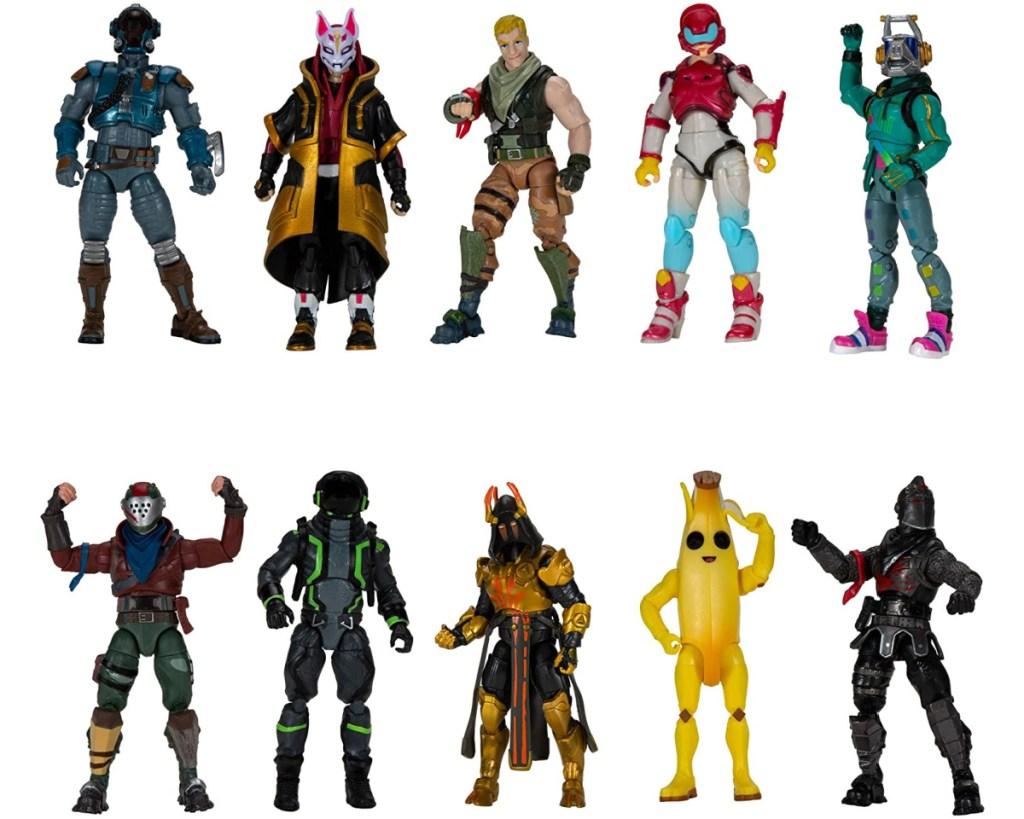 fortnite action figures set of 10