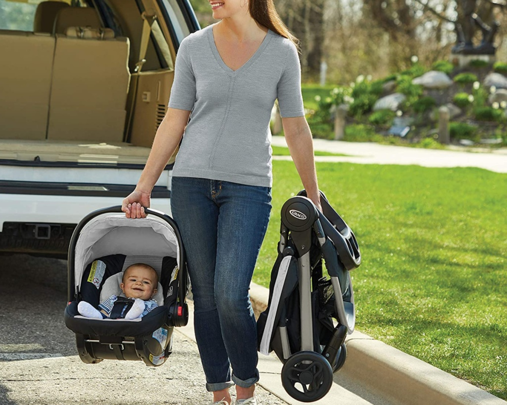graco travel system car seat and stroller