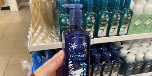 Bath &  Body Works Hand Soaps Just $3.25 Each (Regularly $7.50) | Includes Holiday Scents