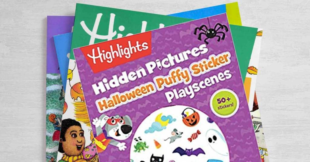 highlights activity books for kids
