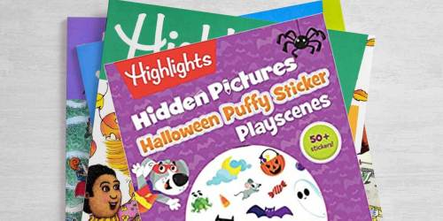 Halloween Activity Books from $1.18 on Amazon | Mad Libs, Hidden Pictures, & More