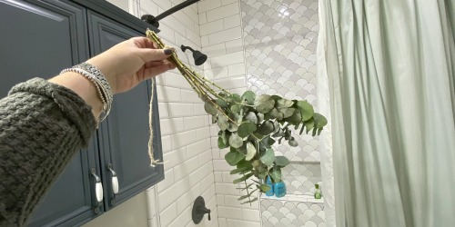 Why I Have Eucalyptus Hanging In My Shower