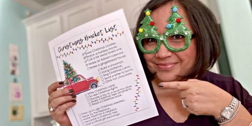 Print Your Free Christmas Bucket List For Lots of Holiday Fun!