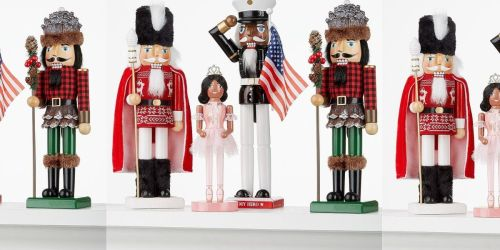 Nutcrackers from $17.99 on Macys.com (Regularly $52) | Black Friday Deal
