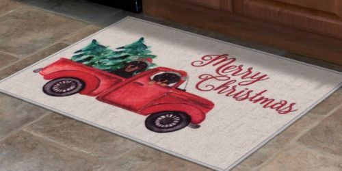 Festive Holiday Accent Rugs Only $4 on Kohls.com (Regularly $18)