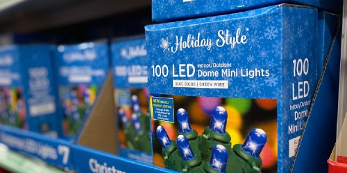 Dollar General Pre-Holiday Savings Event | 50% Off Christmas Lights, Discounted Apple Gift Cards & More