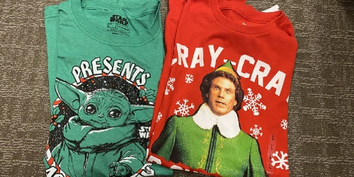 Men's Holiday Graphic Tees Only $4 on Kohl's.com (Regularly $14)