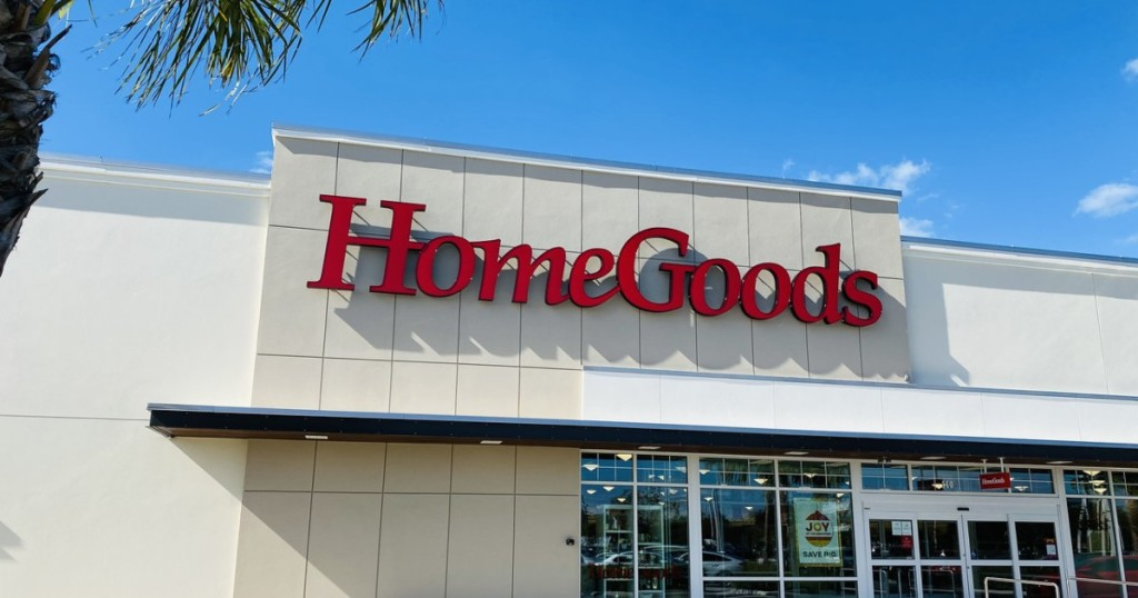 exterior of HomeGoods store