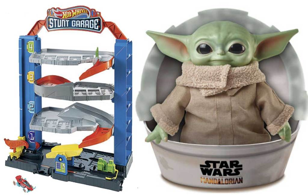 star wars and hot wheels toys