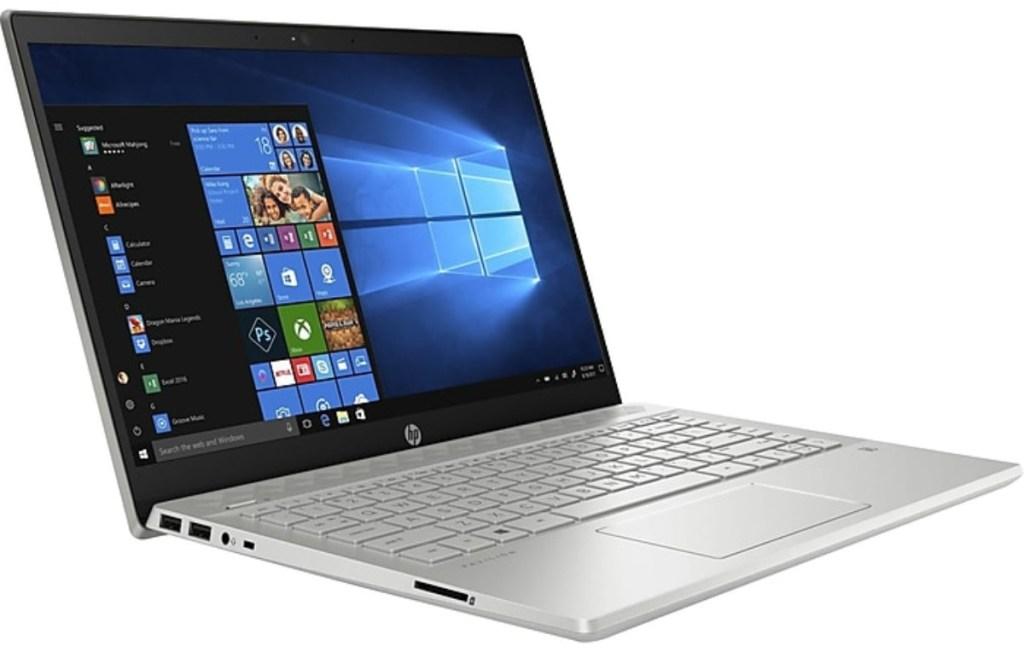 open HP laptop