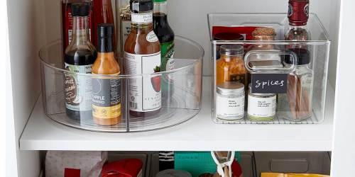 iDesign Kitchen Organizer Bins from $9.99 Shipped on Zulily