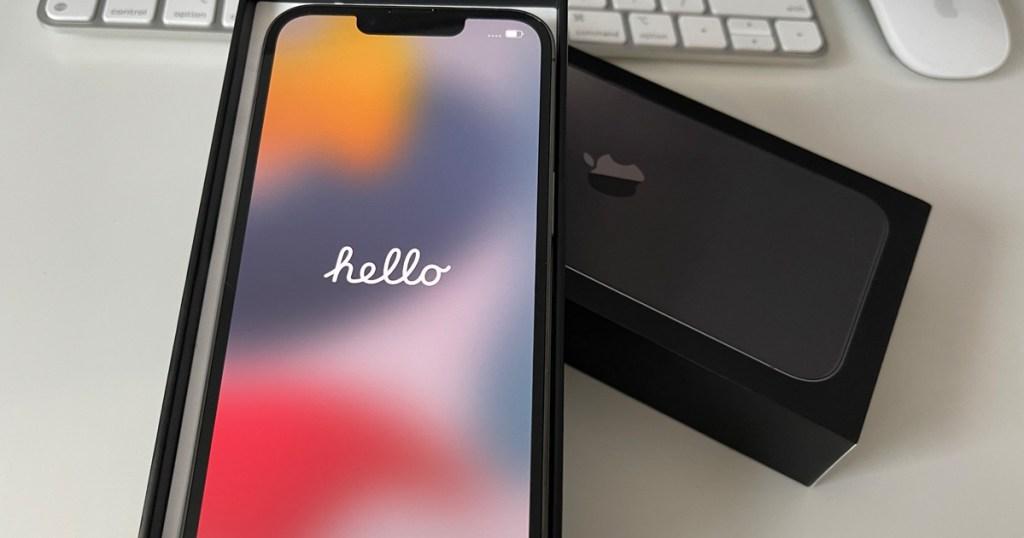 iphone 13 in box