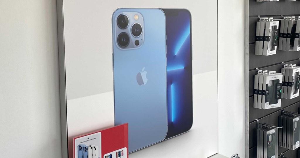 apple iPhone deals signage