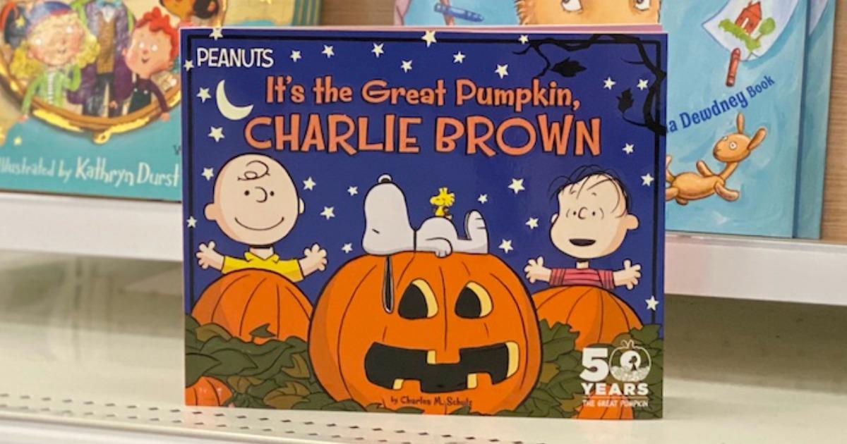 great pumpkin charlie brown book in store