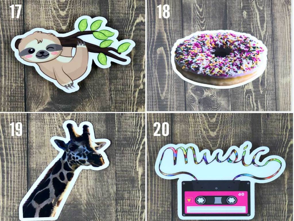 cute animated stickers