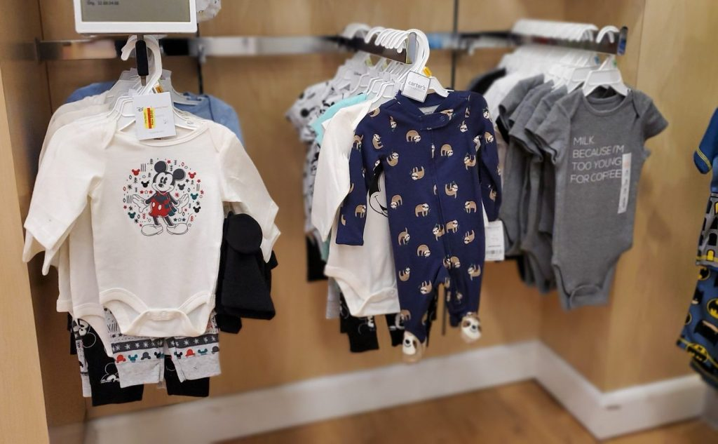 jumping beans baby clothes in store at kohls