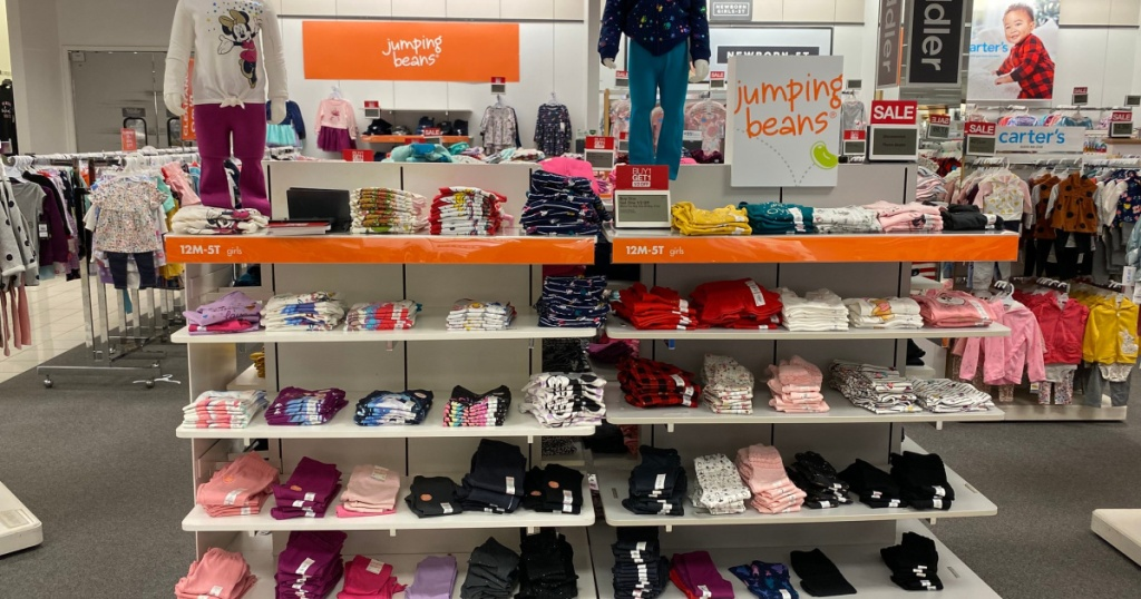jumping beans in store at kohls