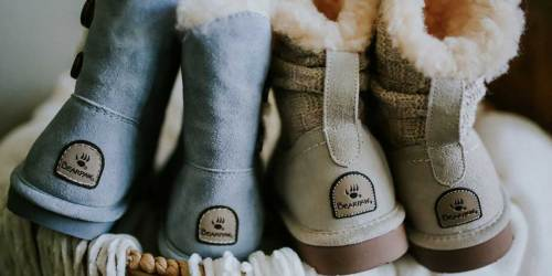 BEARPAW Kids Boots from $19.99 on Zulily + Exclusive Free Shipping Offer