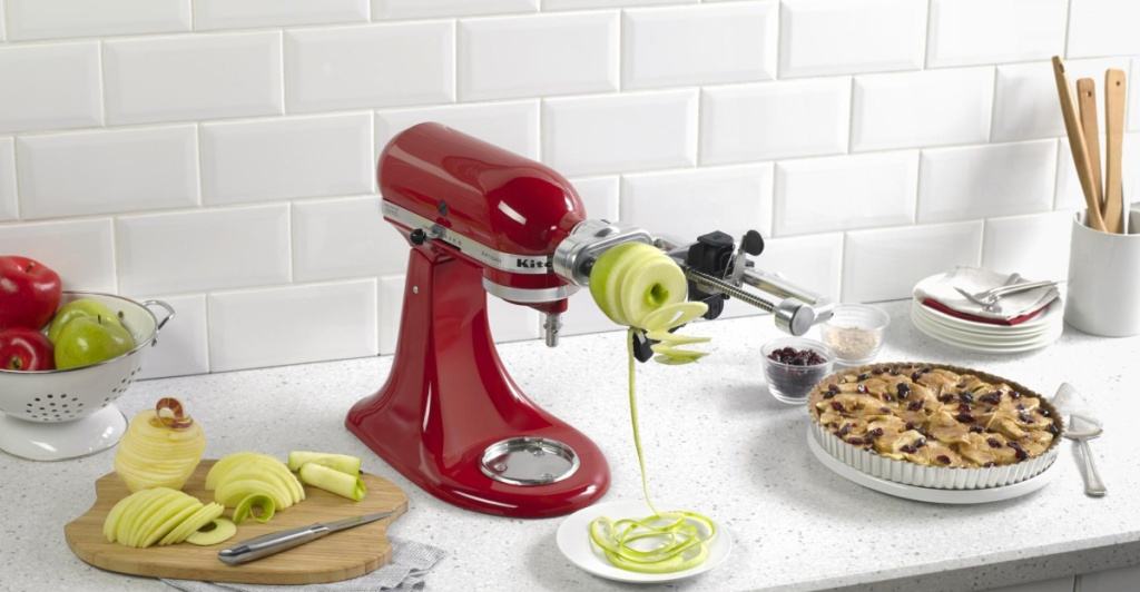 kitchenaid 5 Blade Spiralizer with Peel, Core and Slice