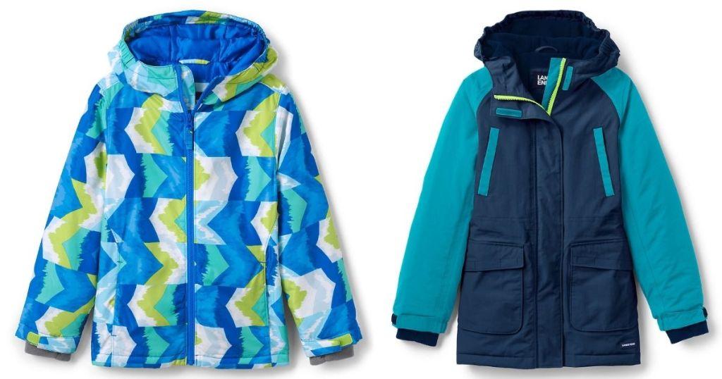 kids lands end jackets