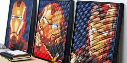 LEGO Art Only $99.99 Shipped on Zulily (Regularly $120) | Iron Man, Marilyn Monroe, The Beatles